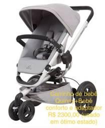 Carrinho de bebê Quinny Xtra 3 rodas + bebê conforto e acessaríeis
