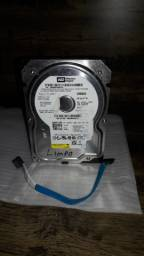 HD Desktop Western Digital 80 GB Funcionando e Formatado