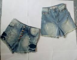 Duo de shorts jeans