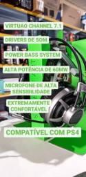 Headset Gamer Surround Sound 7.1 Elg