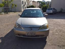 Civic 1.7 EX Sedan 16V - 2002 Completíssimo!!!