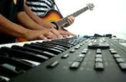 Aulas de canto, teclado e piano, violão popular e clássico, musicalização infantil
