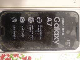 Sansung Galaxy A 7 2017 com display quebrado