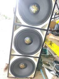 Vendo 3 alto falante de 550 Eros