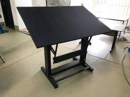 Cavalete (Mesa) Para Desenho Profissional C/ Prancheta 150x100 Trident
