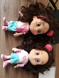 Bonecas Maria Clara e JP