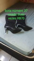 Bota n37 Não entrego usada duas vezes R$70