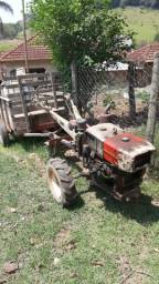 Micro Trator Yamar TC-10 Completo