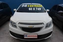 Chevrolet Onix Lt 1.0 ( 0 entrada - 60 x 749 ) 2014