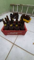 Pack de garrafa de cerveja 300ml e uma de litrão