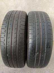 Par de pneus 195 65 15 Bridgestone ecopia ótimos