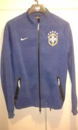 Agasalho jaqueta nike seleção brasileira de futebol
