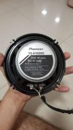 Par de alto falante Pioneer TS-A1686S 60W Rms usado