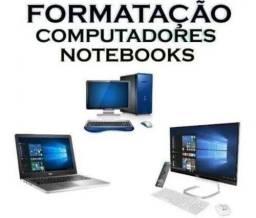 Formatamos Computador e Notebook