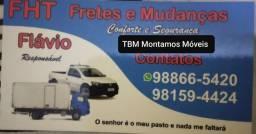 FRETES CARGAS E MUDANÇAS MONTAGENS  DE MÓVEIS