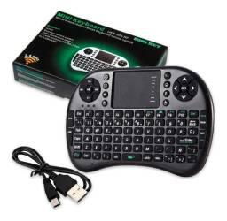 R$60,00 - Mini Teclado Wireless Keyboard E Mouse Mini Key Ukb-500-RF