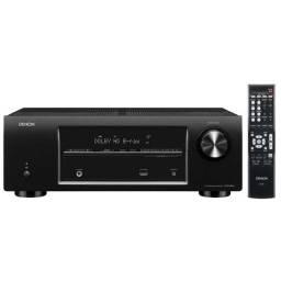 Receiver Denon AVR-E200 - 5.1 canais - 3D