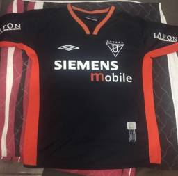 Camisa Futebol Ldu Umbro 2003 - Preta e Laranja - official