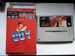 Cartucho Final Fight Guy - Super Nes (Paralelo)
