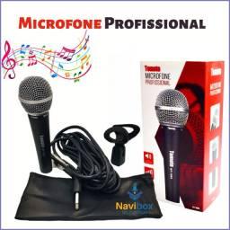 Microfone Profissional Dinâmico com fio | MT-1005