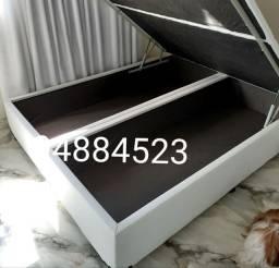 box baú queen size/158×198×41) produto novo direto da fábrica!!