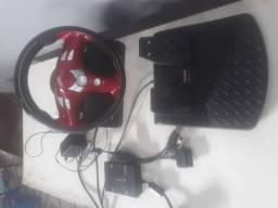 Volante de video game