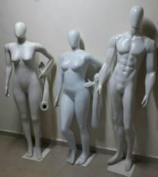 OPORTUNIDADE UNICA Vendo manequins masculino, feminino e feminino PLUS size