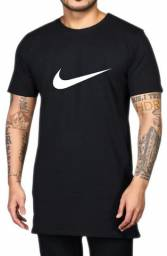 Camiseta Long Line Oficial da Nike
