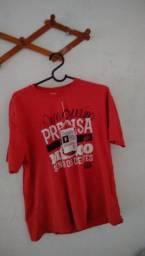 """Camiseta vermelha """"shekinah rap"""""""