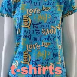 T-shirts tamanho M e G
