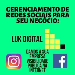 Gerenciamento de Redes Sociais para Páginas Instagram e Facebook