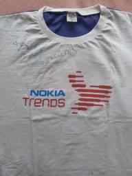 Camiseta autografada David Guetta