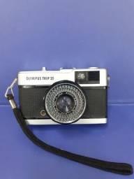 Câmera Olympus trip 35ótimo estado ótica muito