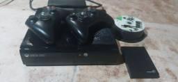 Xbox360 destravado 1terabyte de jogos