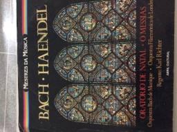 Vinil Bach e Handel oratório de natal