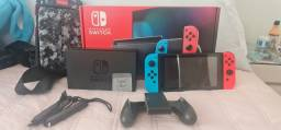 Nintendo switch novo Br v2 + acessórios  128gb, pelicula e case