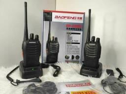 Produto novo. Rádio transmissor baofeng completo bf-888s talk rádio portátil r$ 240,00