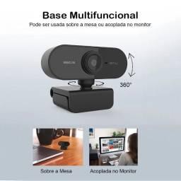 Webcam full hd 1080p USB 2.0 preta