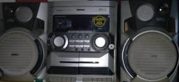 Rádio  Philips mini  HIFI system