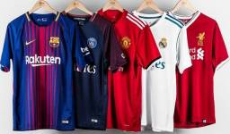 Camisas 1.1 de futebol e NBA , qualidade original.