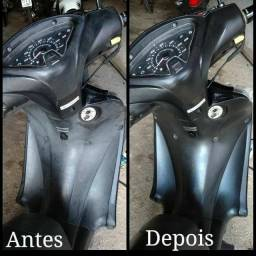 REVITALIZADOR DE PLÁSTICO MOTO E CARRO