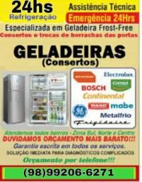 Geladeira e freezer consertos e serviços