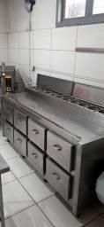 Equipamentos para cozinha industrial, Restaurante, Pizzaria...
