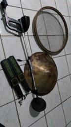 Kit garimpo  03 detectores ,peneira, bateia