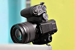 Camera Lumix Panasonic G85 + Lente 12-60mm original do kit (Usada poucas vezes)