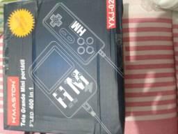 Mini Video Game Retrô Portátil Com Controle e 400 Jogos - Hmaston YXJ 02