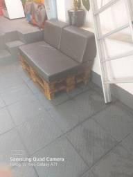 Sofá de Palet com Almofada