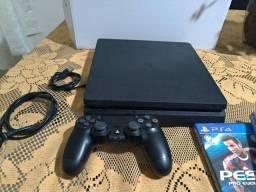 PS 4 slim 1 TB dois jogos