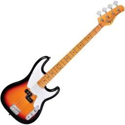 Baixo Tagima TW66 Woodstock Precision Bass TW 66 Sunburst - Somos Loja