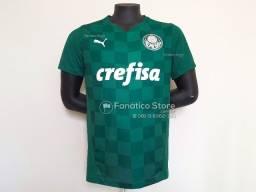 Camisa Palmeiras 2021/22 - Loja Fanático Store - Lançamento